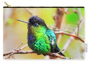 Fiery Throated Hummingbird Carry-all Pouch