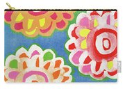 Fiesta Floral 3- Art By Linda Woods Carry-all Pouch