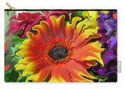 Floral Fiesta Carry-all Pouch