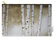 Fifteen Birch Trees Carry-all Pouch