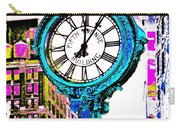 Fifth Avenue Building Clock New York  Carry-all Pouch