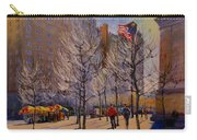 Fifth Avenue - Late Winter At The Met Carry-all Pouch