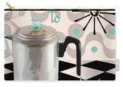 Fifties Kitchen Coffee Pot Perk Coffee Carry-all Pouch