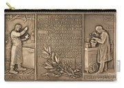 Fiftieth Anniversary Of The Christofle Company, 1842-1892 [reverse] Carry-all Pouch