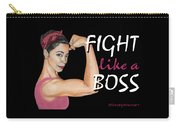 Fight Like A Boss Fundraiser Carry-all Pouch