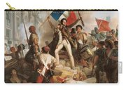 Fighting At The Hotel De Ville Carry-all Pouch