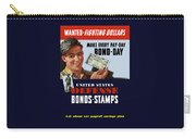 Fighting Dollars Wanted Carry-all Pouch