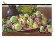 Figs And Cantaloupe Carry-all Pouch