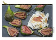 Figs Dessert With Mascarpone Carry-all Pouch