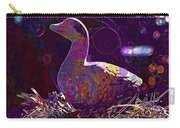 Figure Goose Clay Figure Animal  Carry-all Pouch