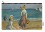 Figures On The Beach, 1890 Carry-all Pouch