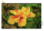 Fijian Hibiscus Abstract In Del Mar 2 Carry-all Pouch