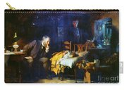 Fildes The Doctor 1891 Carry-all Pouch