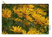 Filled With Sunflowers Horizontal Carry-all Pouch
