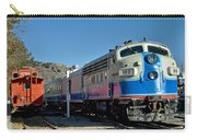 Fillmore And Western Railway Christmas Train 2 Carry-all Pouch