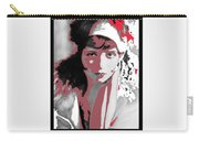 Film Homage Collage Eugene Robert Richee Photo Clara Bow 1 Circa 1927-2013 Carry-all Pouch