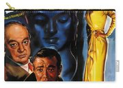 Film Noir Poster Three Strangers Carry-all Pouch