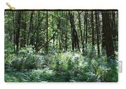 Filtered Forest Sunlight In Oregon Carry-all Pouch