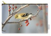 Finch Eyeing Seeds Carry-all Pouch