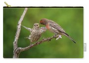 Finch Feeding Time I Carry-all Pouch