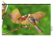 Finches In Motion I  Carry-all Pouch