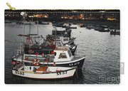 Fine Art- Boats St Ives Harbour Carry-all Pouch