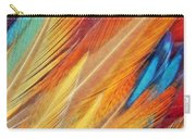 Fine Art Feathers Carry-all Pouch