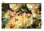 Fine Art Prints Rhodies Floral Canvas Yellow Rhododendrons Baslee Troutman Carry-all Pouch