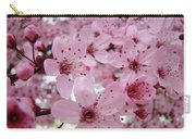 Fine Art Prints Spring Pink Blossoms Trees Canvas Baslee Troutman Carry-all Pouch