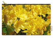 Fine Art Prints Yellow Rhodies Floral Garden Baslee Troutman Carry-all Pouch