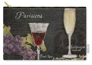 Fine French Wines - Vins Beaux Parisiens Carry-all Pouch