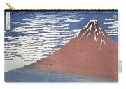 Fine Weather With South Wind Carry-all Pouch by Hokusai