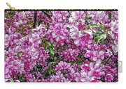 Fine Wine Cafe Apple Blossoms Carry-all Pouch