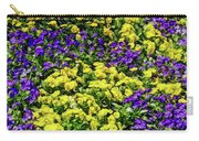 Fine Wine Cafe Colorful Garden Carry-all Pouch
