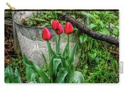 Fine Wine Cafe Red Tulips Carry-all Pouch