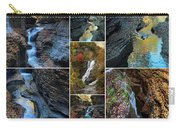 Finger Lakes Gorges Collage Carry-all Pouch