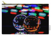 Finger Light Painted Glass Ball Abstract Carry-all Pouch