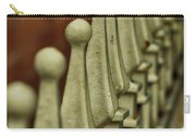Finials All In A Row Carry-all Pouch