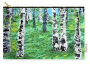 Finland Birches  Carry-all Pouch