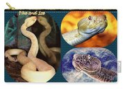 Fire And Ice Slither Collage Carry-all Pouch