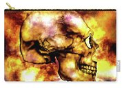 Fire And Skull Carry-all Pouch
