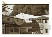 Fire At Cannery Row, Custom House Packing Company Sea Beach Cannery 1953 Carry-all Pouch