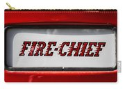 Fire-chief Carry-all Pouch