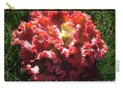 Fire Color Succulent. Curly Plant, Exotic Carry-all Pouch