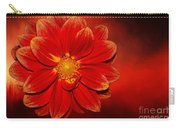 Fire Dahlia By Kaye Menner Carry-all Pouch