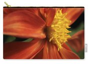 Fire Dahlia Carry-all Pouch