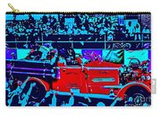 Fire Engine Red In Blue Carry-all Pouch