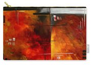 Fire Hazard Original Madart Painting Carry-all Pouch
