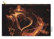 Fire Heart Carry-all Pouch