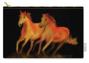 Fire Horses Carry-all Pouch